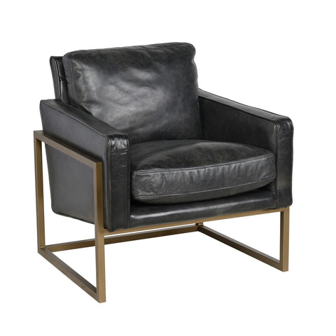 Ken Black Club Accent Chair