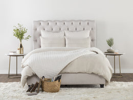 Doheney Linen Bed California King