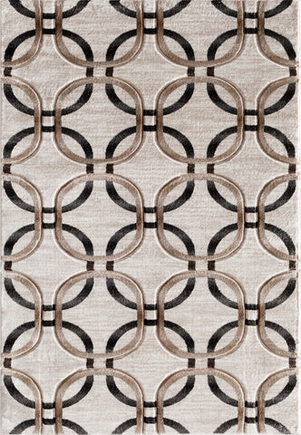 Apex 5591.14 Maysville Cream Rug Rectangle 5 x 7.25