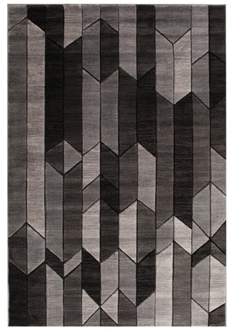 Apex 5592.61 Alfie Grey Rug Rectangle 5 x 7.25