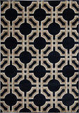 Apex 5593.42 Dolliver Navy/Beige Rug Rectangle 5 x 7.25