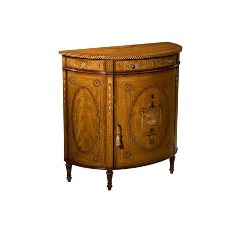 The English Cabinet Maker The Honeysuckle Adam Cabinet 6105 480