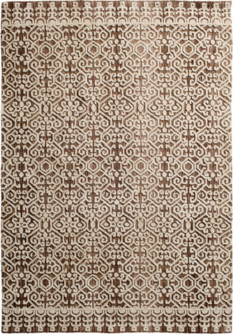 Posh 7056.129 Moxie Ivory/Taupe Rug Rectangle 5 x 8