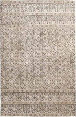 Posh 7058.131 Brinkley Silver/Beige Rug Rectangle 5 x 8