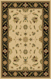 Interlude Portico 030 8265IB Kazmir Ivory/Black Rug Rectangle 5 x 7.58