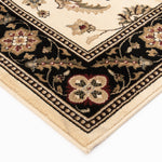 Interlude Portico 030 8265IB Kazmir Ivory/Black Rug Rectangle 7.25 x 10.83