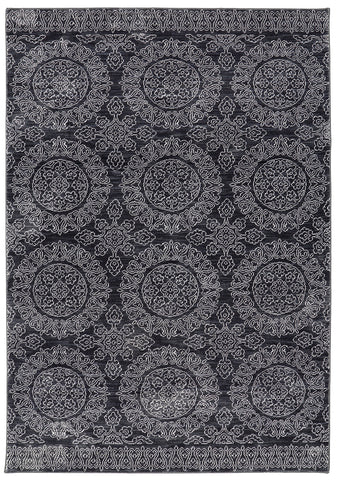 Savannah Leawood Black 90490 90083 Rug