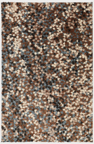 Huxley 90676 85009 Chaos Theory Dark Earth Rug
