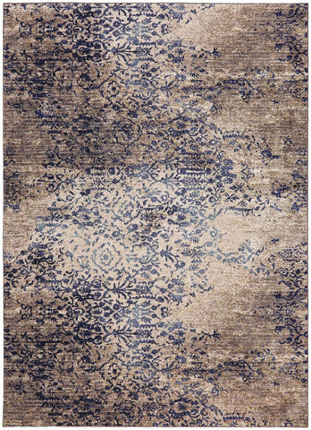 Cosmopolitan Nirvana by Virginia Langley Indigo 90953 50134 Rug