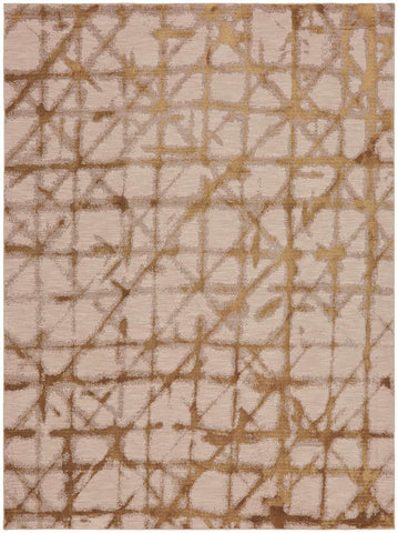 Enigma Contact Brushed Gold 90969 00918 Rug