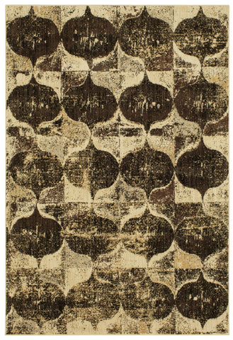 Expressions Iconograph by Scott Living Black 91824 90083 Rug