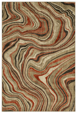 Expressions Sediment by Scott Living Ginger 91825 20048 Rug