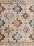 Bella Rose Lr99696 Beige/Gray/Burnt Orange/Tan Rug