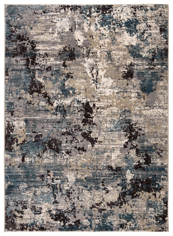 Aireloom AIR01 Carraco Blue Mirage/Silver Mink Rug