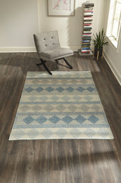 Andes And-5 Blue Rugs