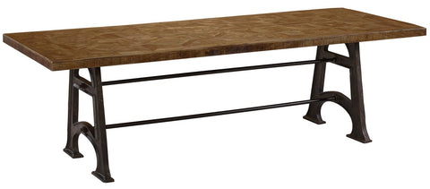 "Artisanal Alchemy ARA-9196 Natural Unwin 96"" Dining Table"