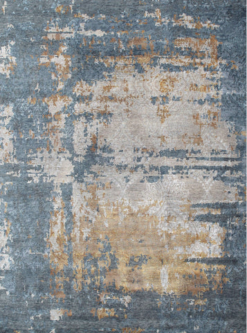 Athena AT 49 Blue/Gold Made To Order Rug