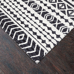 Aztec 7871 990 Grey/Black Rug