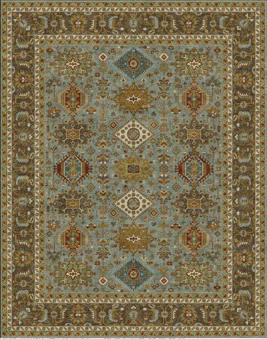 Dream BC 0013/Grey/Brown Made To Order Rug