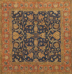 DREAM BC 0014 NAVY/RUST Made To Order Rug