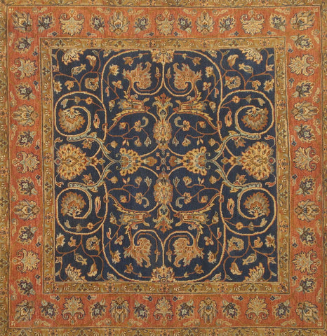 DREAM BC 0014 NAVY/RUST Custom Rug