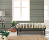 Cream Tufted LR99011 Indoor Bench
