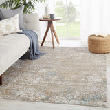 Brienne Bnn02 Behruz Gray/Blue Rug