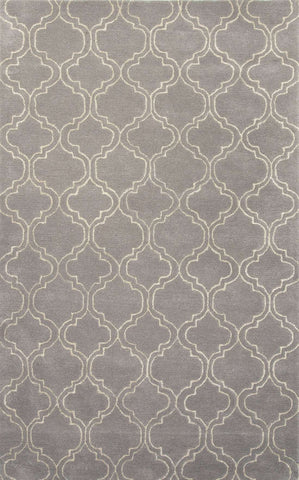 Baroque BQ25 Hampton Nickel / White Rug