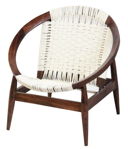 Upholstery CAC-51052 White/Natural Peraza Chair