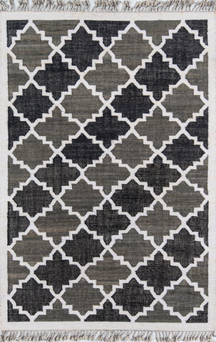 California By Novogratz Cal-1 Greyback Charcoal Rugs