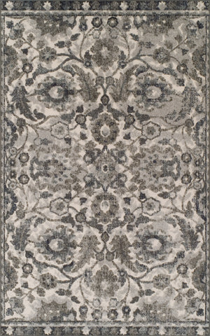 Cadence CE7 Pewter Rug