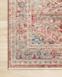 Claire CLE-01 Red/Ivory Rug