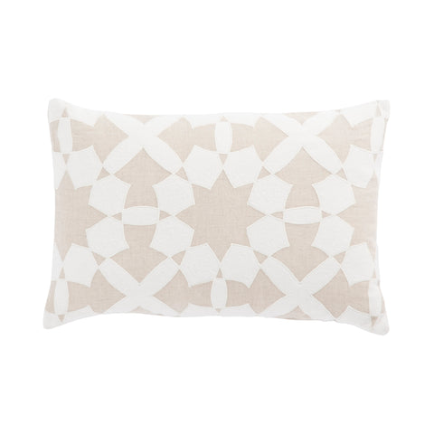 Cosmic By Nikki Chu CNK47 Casino White/Ivory Pillow
