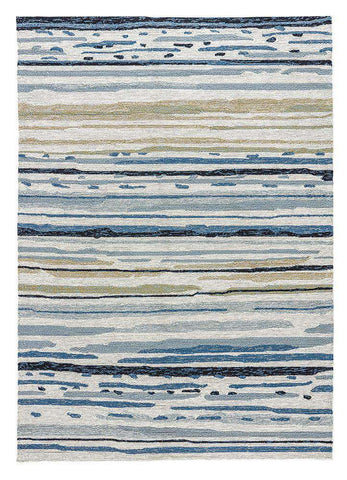 Colours CO08 Sketchy Lines Classic Gray Rug