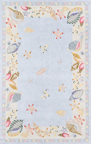 Coastal CC 04  L.Blue Rug