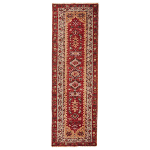 Coredora Crd04 Kyrie Red/Yellow Rug