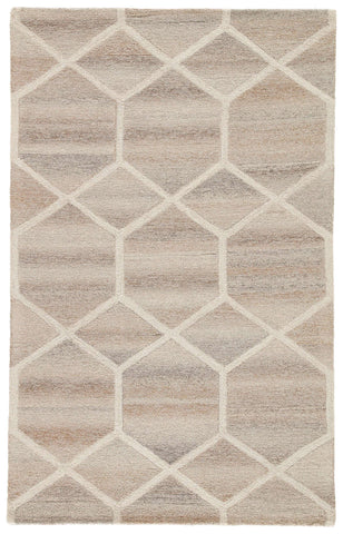 City CT107 Cleveland Gray / Cream Rug