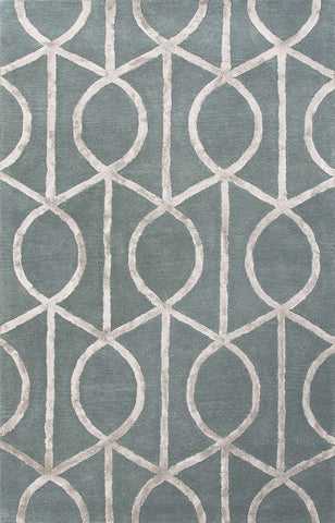 City CT35 Seattle Seaside Blue / Medium Gray Rug