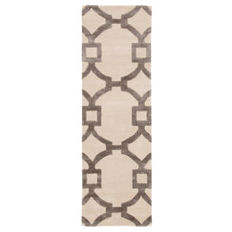 City CT44 Regency Antique White / Charcoal Slate Rug