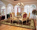 Corinthian 5308 Aubusson Red Ivory Rug