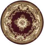 Corinthian 5308 Aubusson Red/Ivory Rug