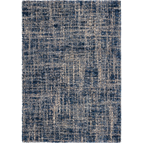 Cotton Tail JA26 Cross Thatch Navy Rug