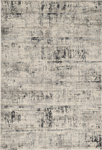 Crete 6518 Luster Ivory Silver Rug