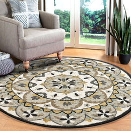 Dazzle LR54100 Gray Cream Rug