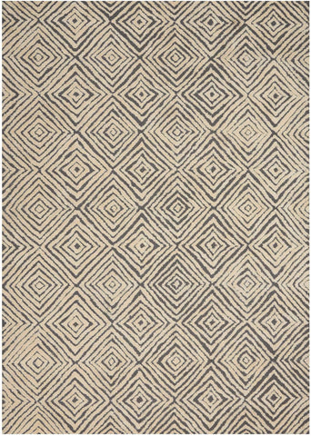 Deco Mod DEC01 Grey/Ivory Rug