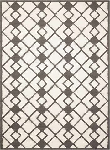 Decor DER03 Ivory/Grey Rug