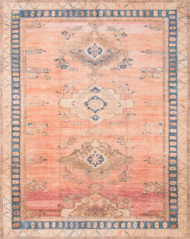 Deven by Magnolia Home DEV-01 Sunset/Indigo Rug