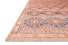 Deven by Magnolia Home DEV-04 Persimmon/Indigo Rug