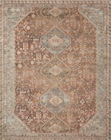 Deven by Magnolia Home DEV-08 Spice/Sky Rug