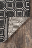 Downeast by Erin Gates DOW-1 Charcoal Rug